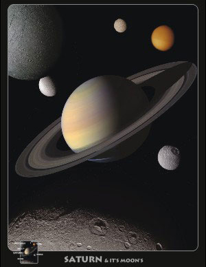 planet saturn poster - photo #6